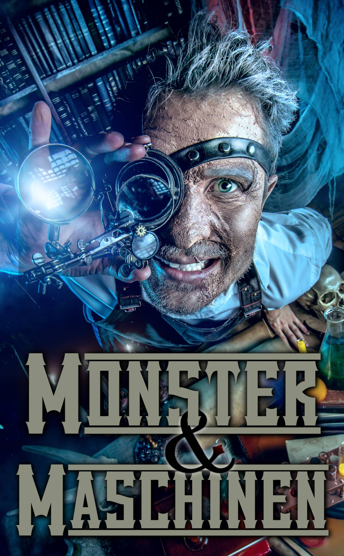 ebook Cover Monster und Maschinen